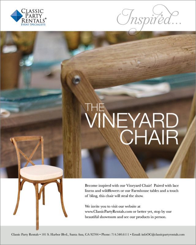 featured product: the vineyard chair | blog posts | pinterest