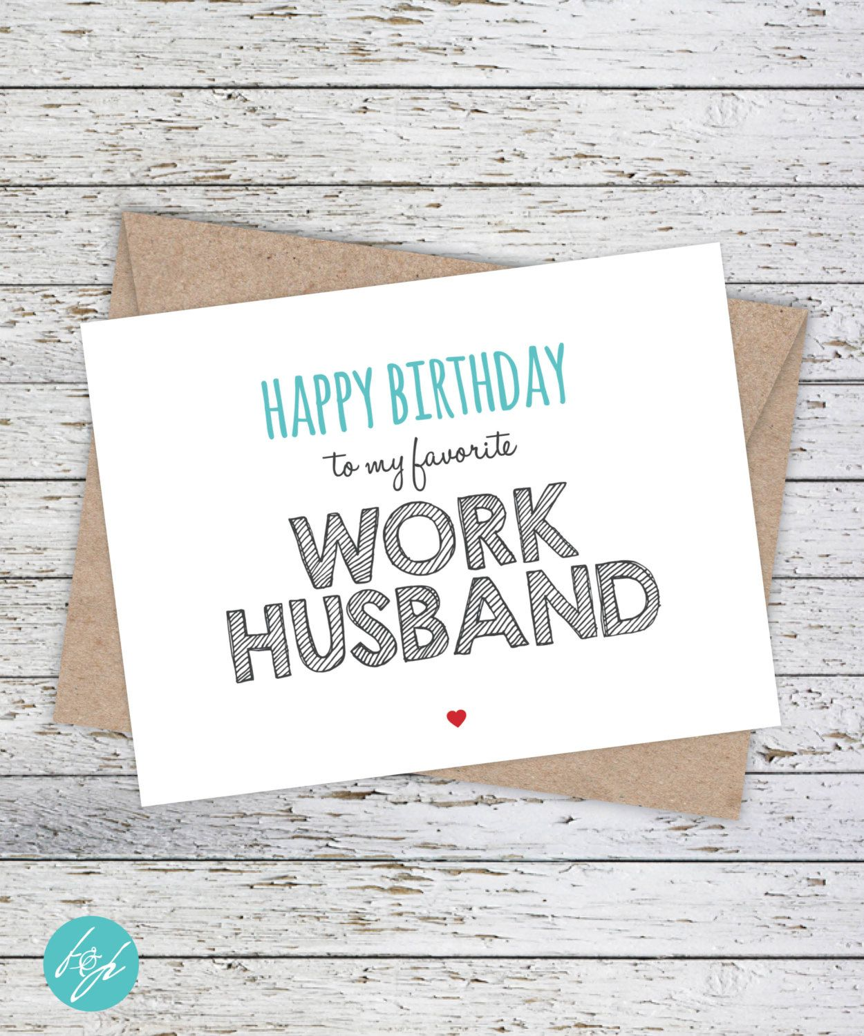 Funny coworker birthday card funny birthday card snarky birthday funny coworker birthday card happy birthday to my favorite work husband by flairandpaper on etsy bookmarktalkfo Image collections
