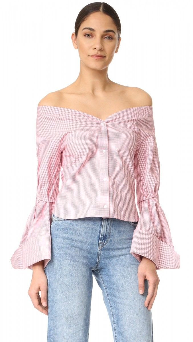 9969df0c2d 15 Spring Items To Go Shopping In Shopbop - The Closet Heroes Blusas Canoa