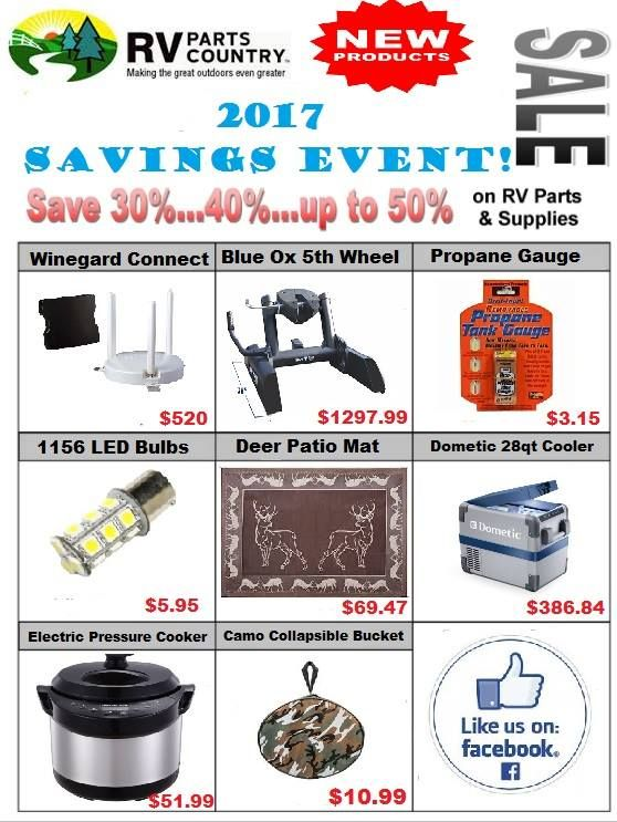 Pin By Rv Parts Country On Sales Ads Rv Parts And Accessories Rv Parts Rv Accessories