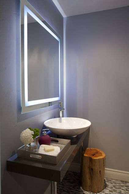 Contemporain Toilettes by Leslie Goodwin Photography {Déco} Salle