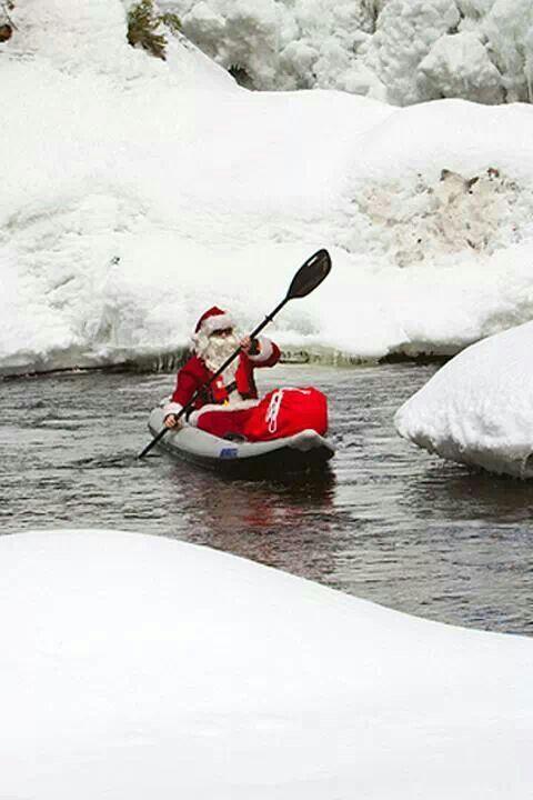 Merry christmas canoeing pinterest