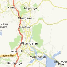 Whangarei, Northland, Amenities - AA Maps - New Zealand Maps ... on