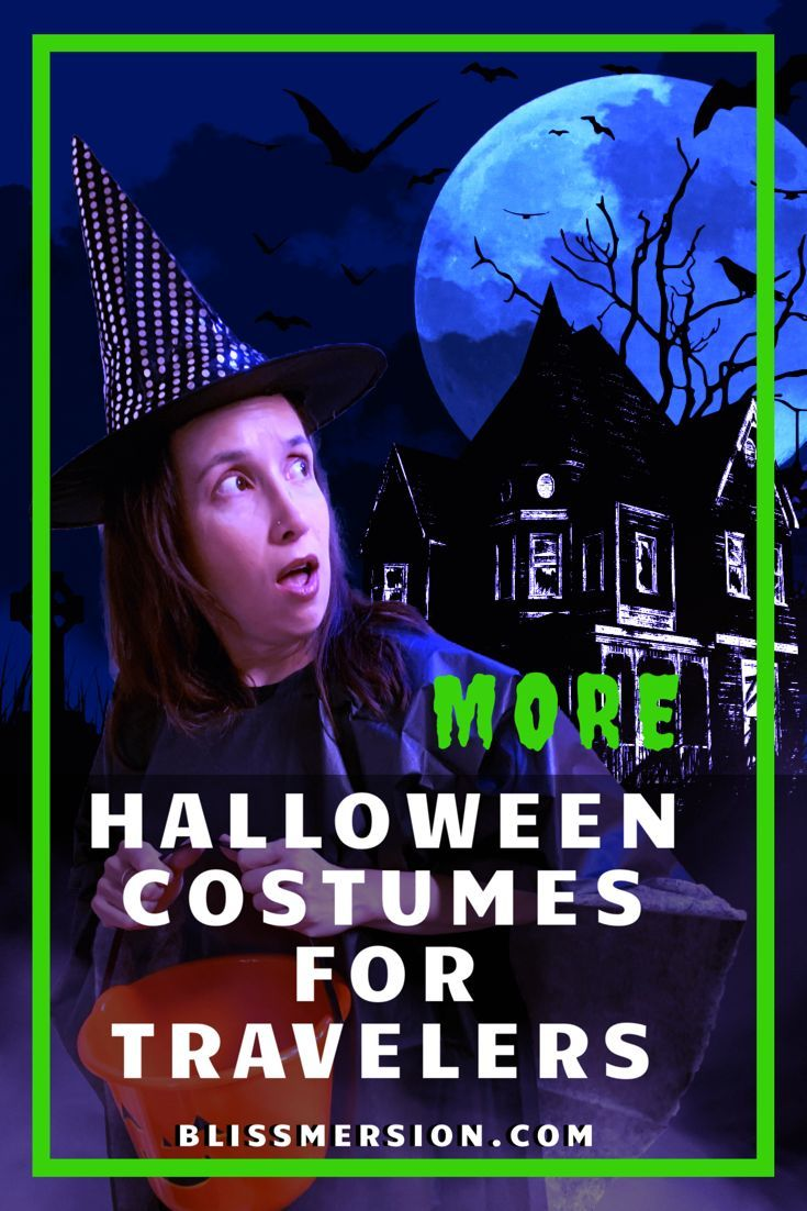 10 More Halloween Costume Ideas for Travelers & Expats