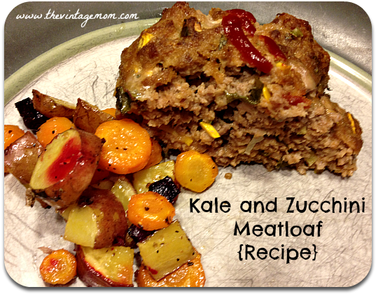 Kale and Zucchini Meatloaf {Recipe} – Progressively Perfect: Virtual Dinner Party