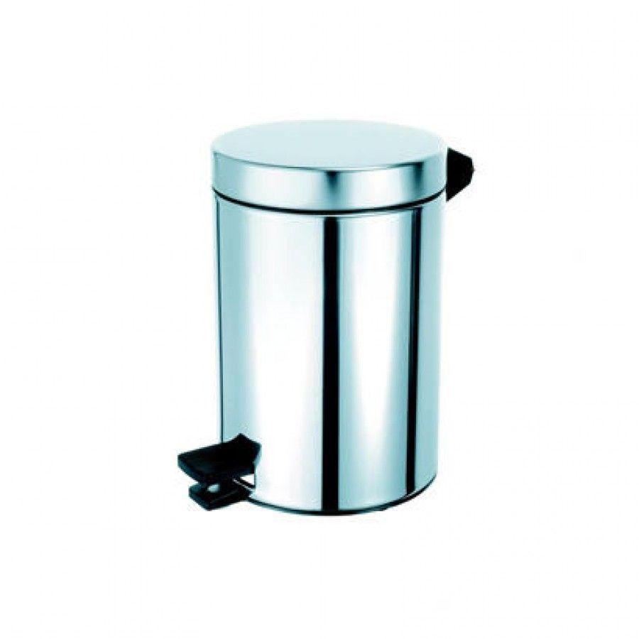 Geesa by Nameeks Standard Hotel Pedal Waste Bin in Stainless Steel ...
