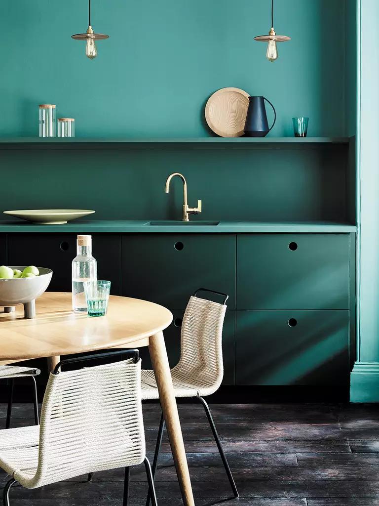 18 inspirations déco couleur bleu canard - Joli Place en 18