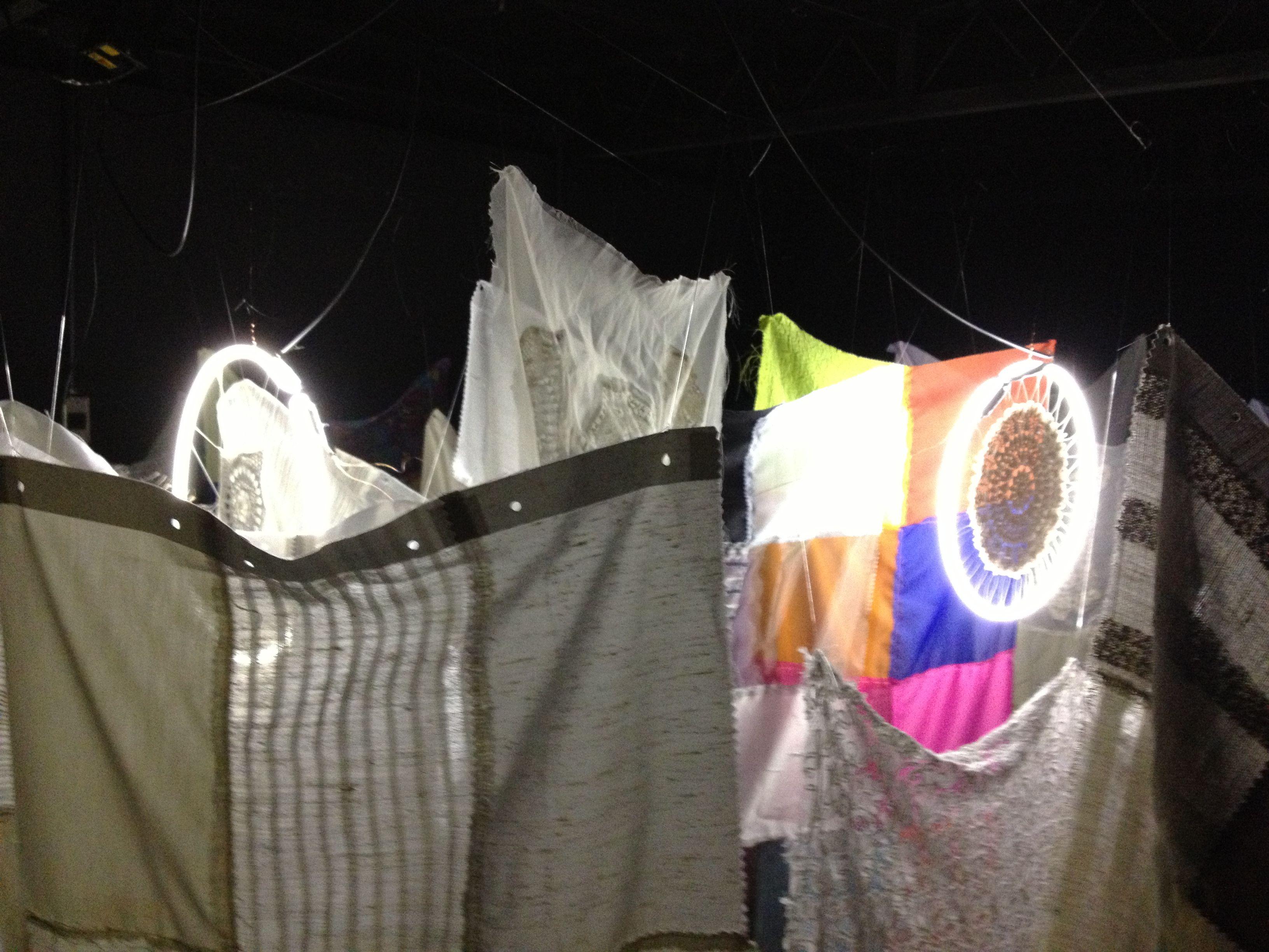 Instalação Ninho da Noiva, 2013