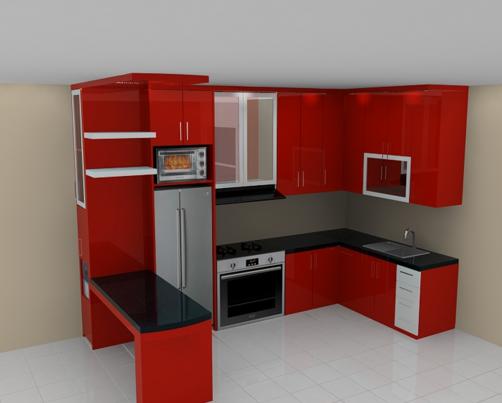 40 Gambar Kitchen Set Minimalis Sederhana Dan Murah Kitchen Home Decor Decor