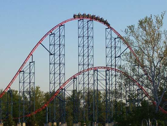 Superman Six Flags America Maryland Went On This With T And Red Solara Six Flags America Dc Vacation Amusement Park Rides