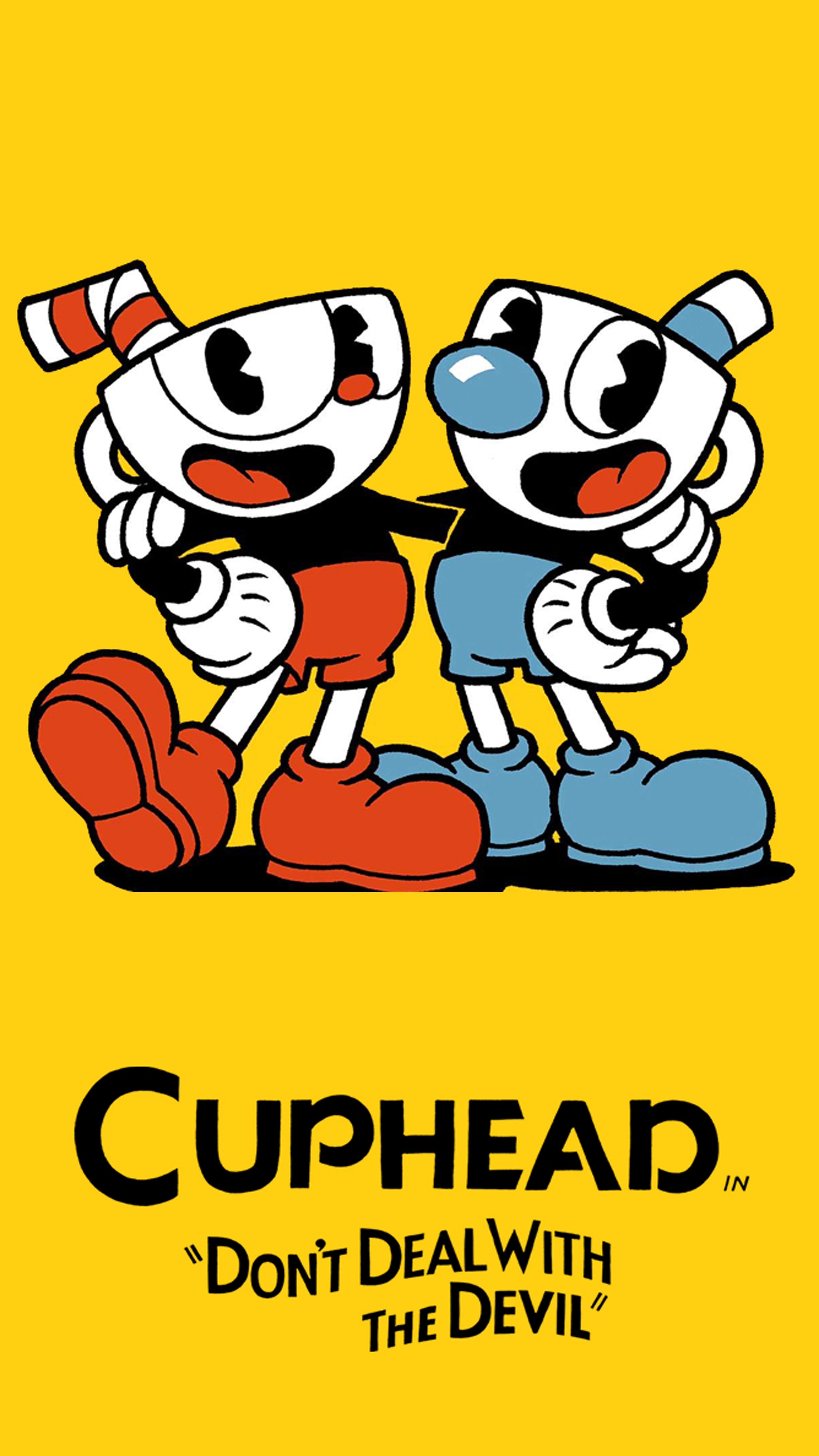 Inspirational Cuphead Phone Wallpaper In 2020 Cuphead Game Wall