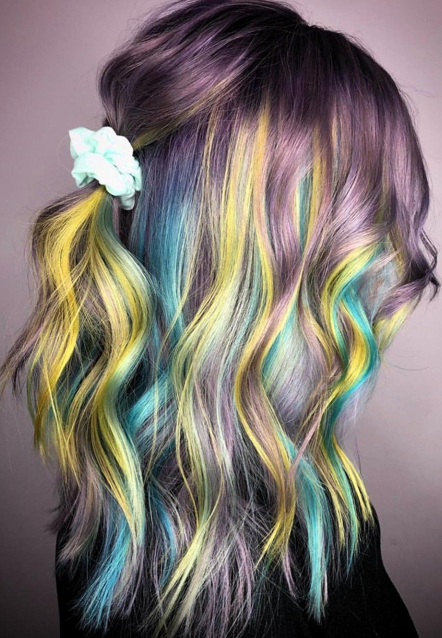 90 Amazing Hair Colors Ideas For 2019 Bold Hair Color Hair Color Cool Hairstyles