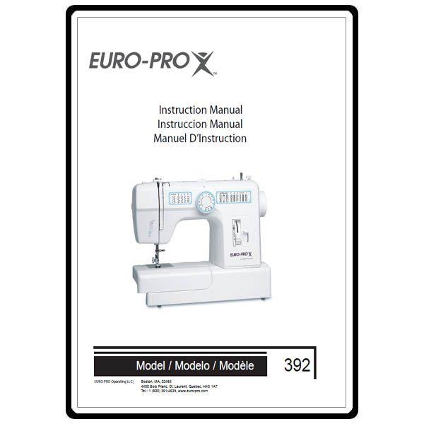 Instruction Manual Euro Pro 40 Download MonsterMarketplace Extraordinary Europro Sewing Machine Manual