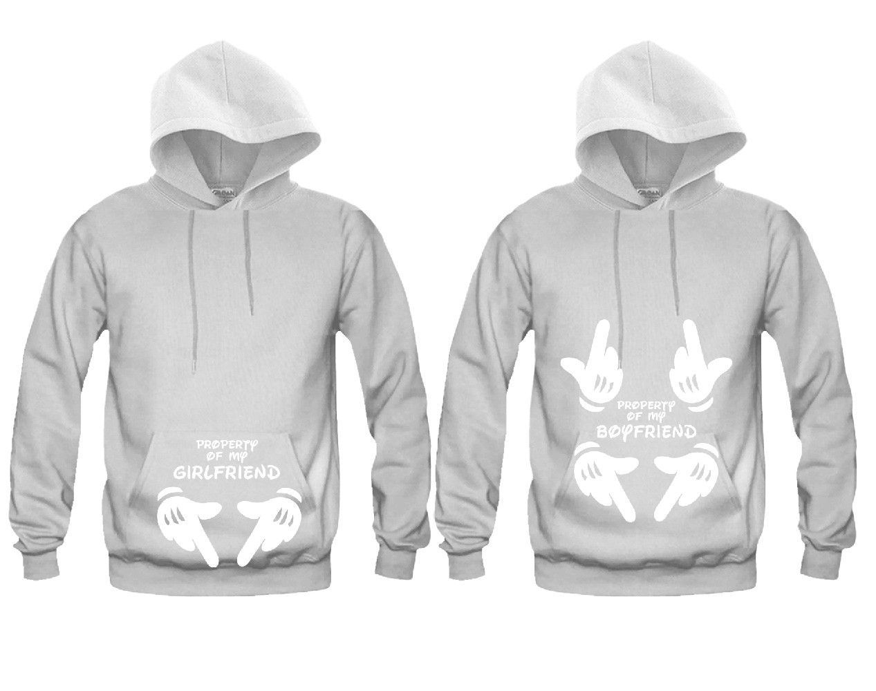 The Boss The Real Boss Hoodie Couple Matching Hoody Gf Bf Gift Married Top Hood