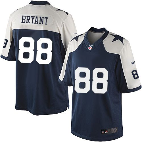 e69006b90 Men s outlet Nike  88 Dez Bryant Limited Navy Blue Throwback Alternate NFL  Dallas Cowboys Jersey