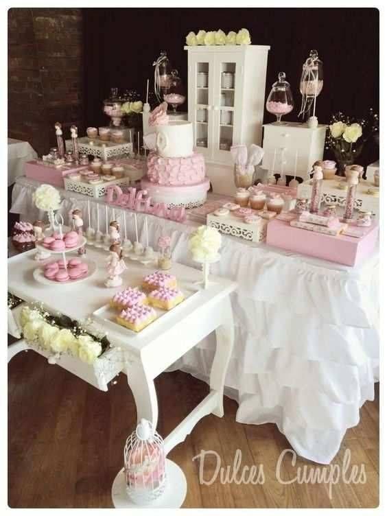 Adornos hechos en casa para primera comunion de ni a - Como decorar una fiesta de comunion ...