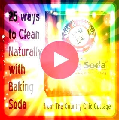 Naturally Clean with Baking Soda   THE COUNTRY CHIC COTTAGE DIY H 25 Ways to Naturally Clean with Baking Soda   THE COUNTRY CHIC COTTAGE DIY H 25 Ways to Naturally Clean...