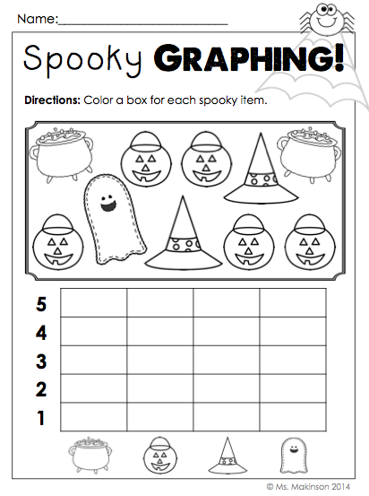 October Printables Kindergarten Literacy Math And