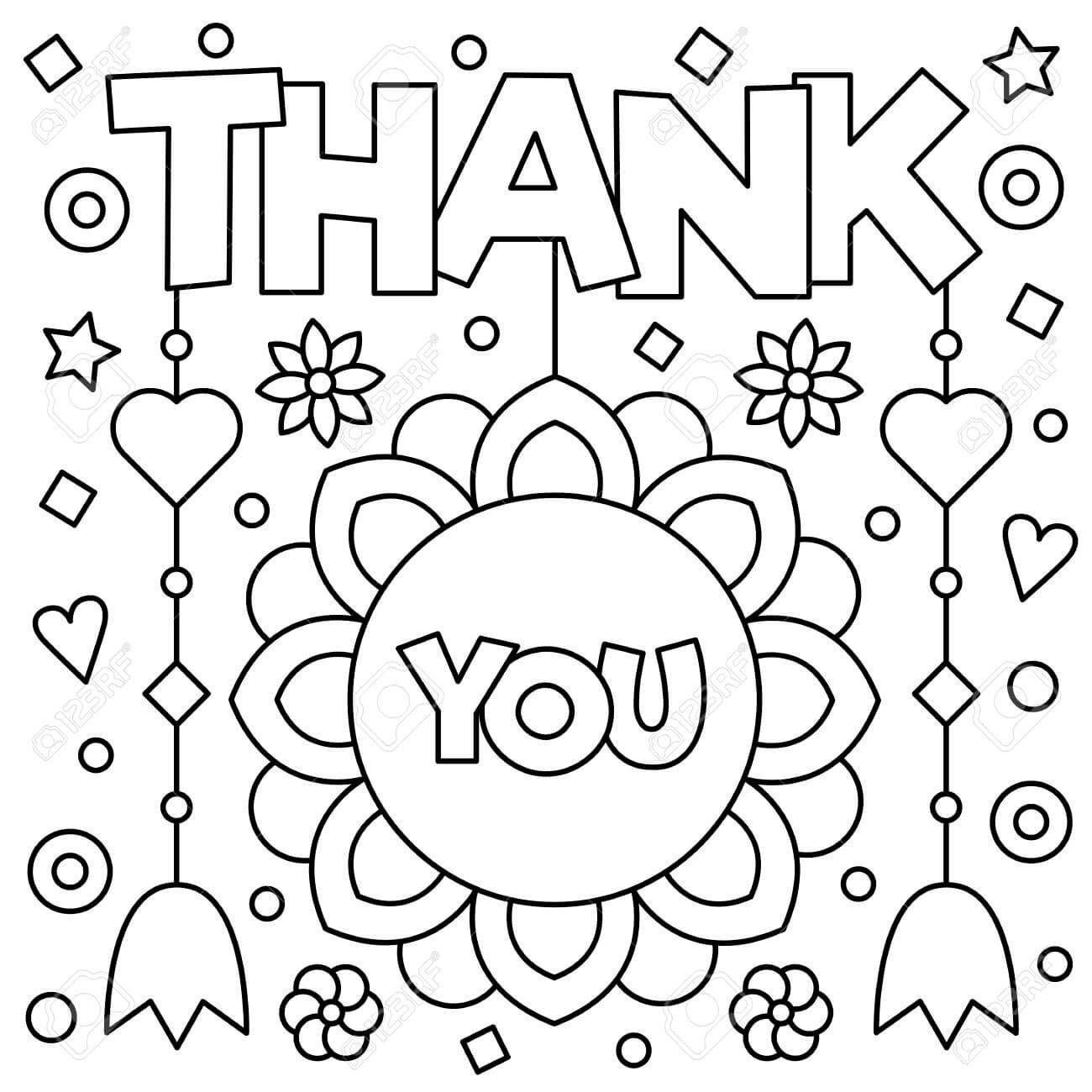 Coloring Pages For Kids Free Printable Printable Thank You Coloring Pages For Kids Coloringpages Coloring Pages Cute Coloring Pages Coloring Pages For Kids