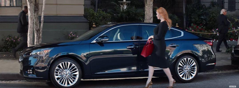Who's in the new 2017 Kia Cadenza commercial? Kia