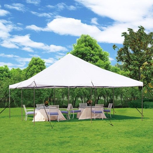 20 x 20 Commercial Grade Party Tent w/ Mosquito Netting & 20 x 20 Commercial Grade Party Tent w/ Mosquito Netting | Party ...