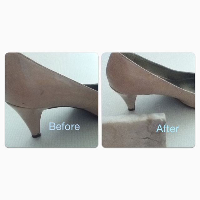 Magic Eraser Gets Scuff Marks Off Trying This For The