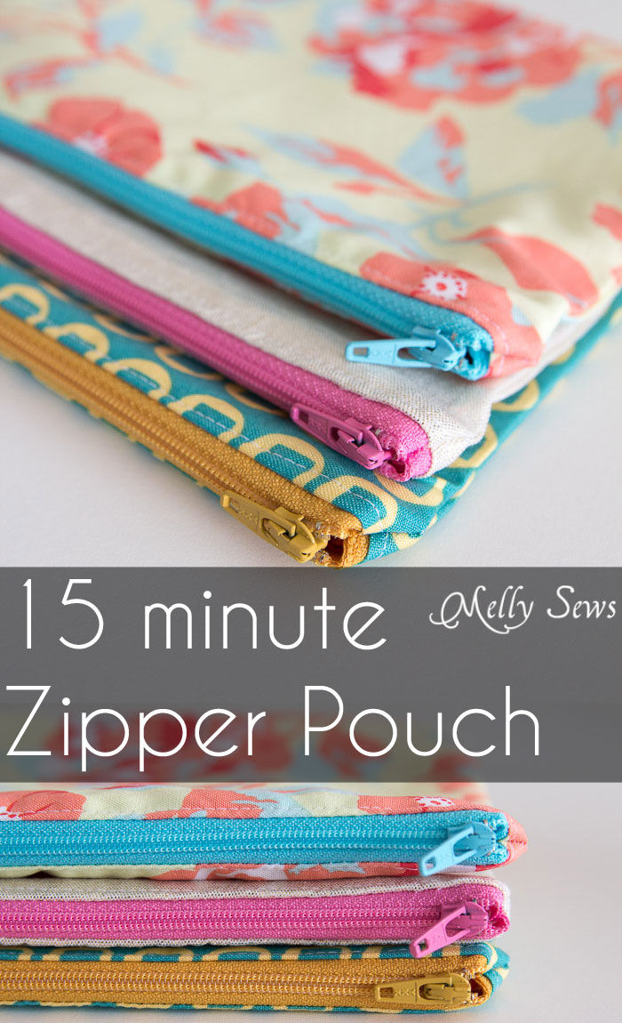 How to Sew a Zipper Pouch Tutorial - Melly Sews -   - #Melly #Pouch #sew #Sews #TUTORIAL #Zipper