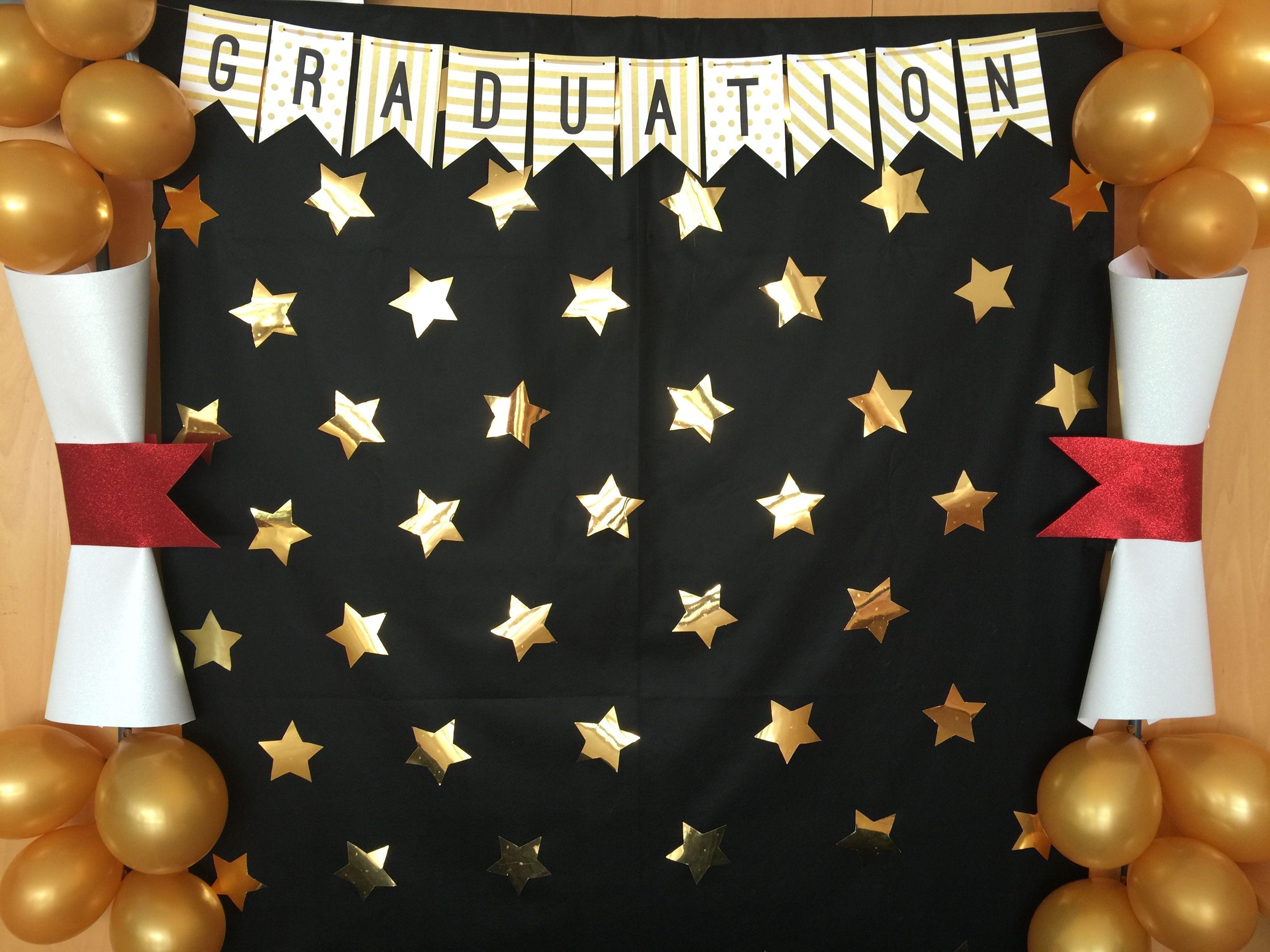 Photocall graduation apapachoa arte ballag s for Decoracion de espacios de preescolar