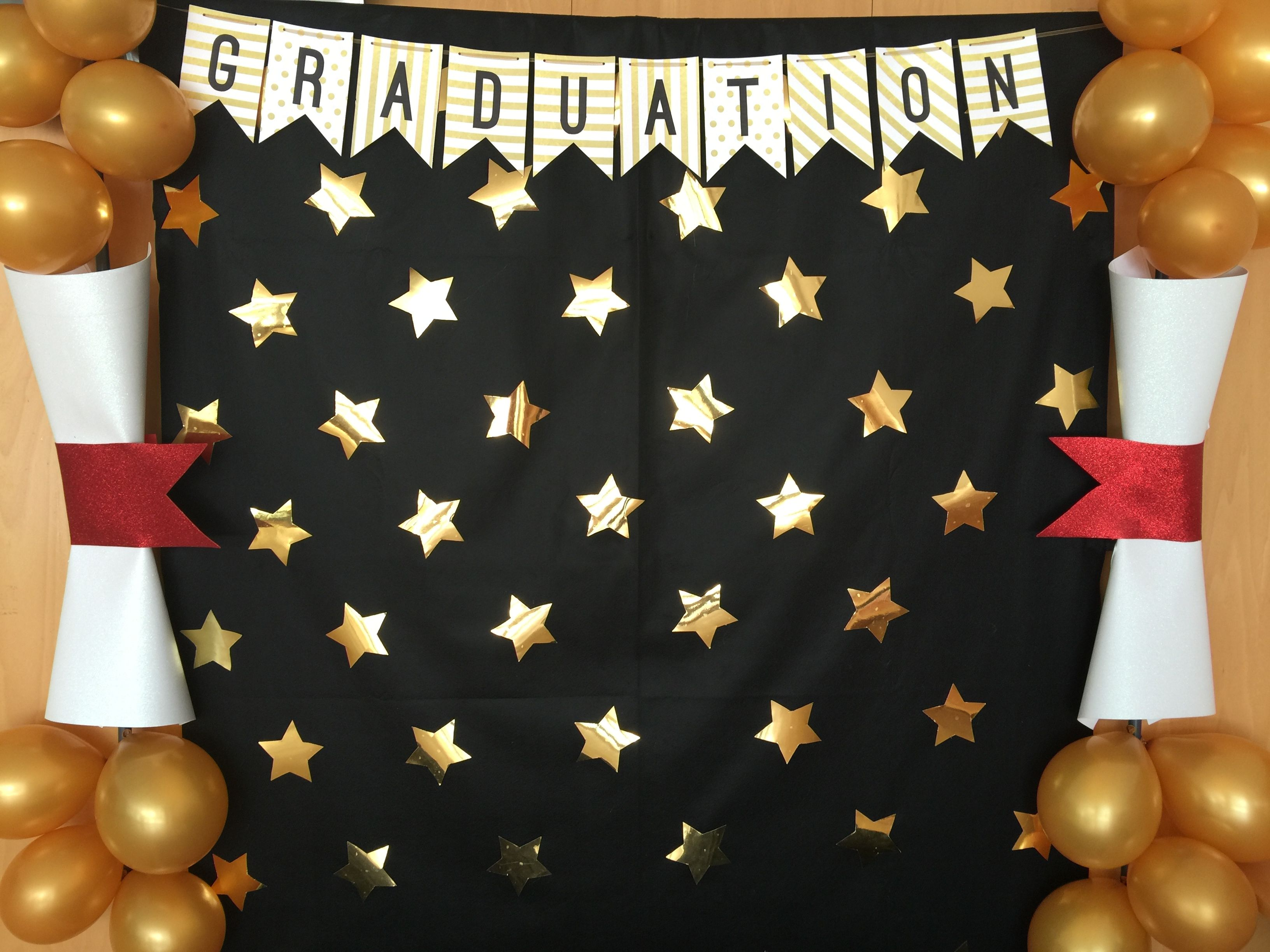 Photocall graduation apapachoa arte ballag s for Decoracion de licenciatura