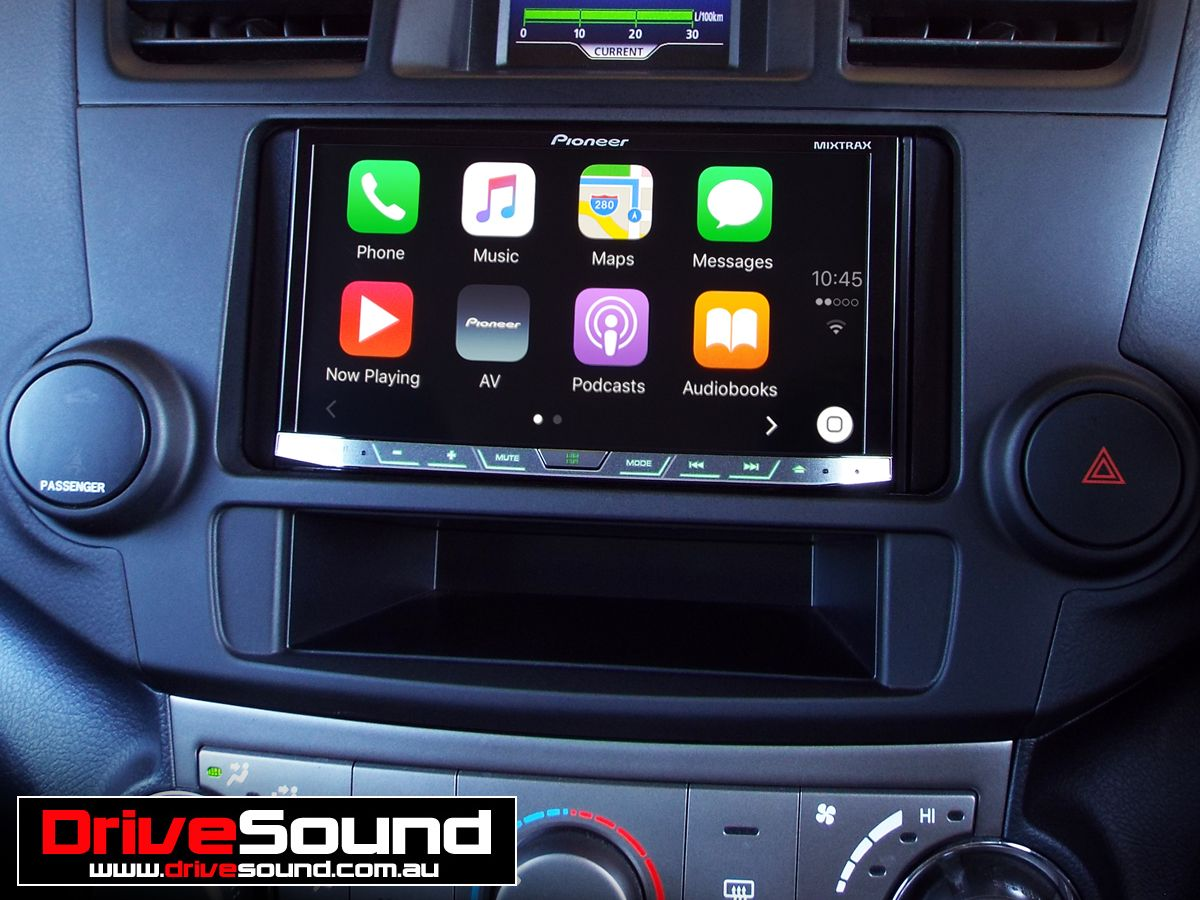 toyota kluger with apple carplay installed by drivesound. Black Bedroom Furniture Sets. Home Design Ideas