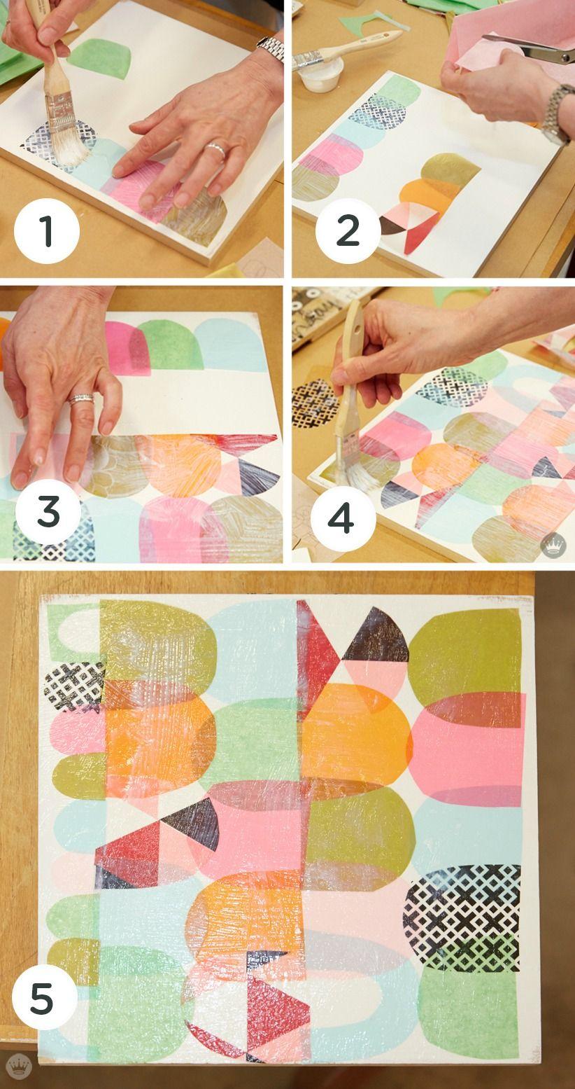 Artist Lynn Giunta teaches us how to create cut paper ...