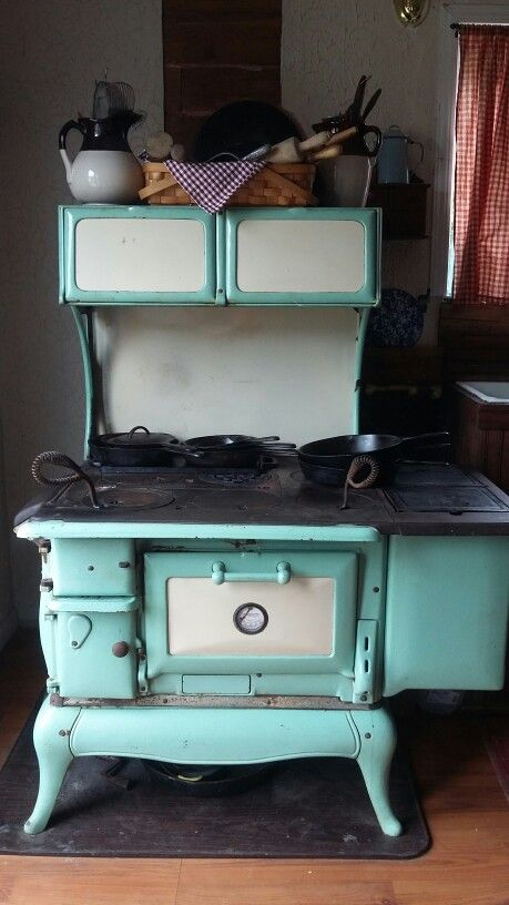 This Is My Wood Cook Stove It Is A 1902 Kalamazoo Princess The