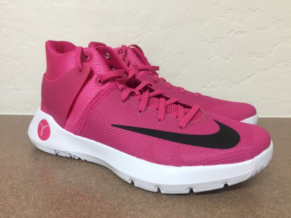 7ad1f6910b5e ... Athletic Shoes by Malvina Coffey. Nike KD Trey 5 IV Kay Yow Vivid Pink    Black   White 844571 606 Sz