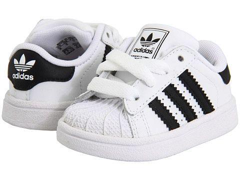 8500579e593b5 adidas Originals Kids Superstar 2 Core (Infant Toddler) Running White -  Zappos.com Free Shipping BOTH Ways