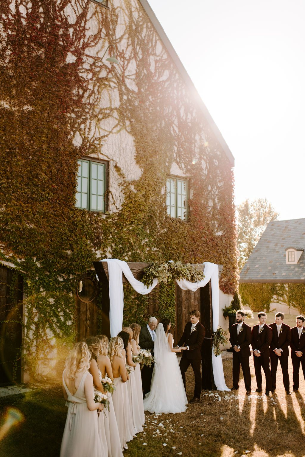 Oklahoma Fall Wedding Baumberhof Peyton Rainey Photography Outdoor Wedding Oklahoma Wedding Venues Fall Wedding