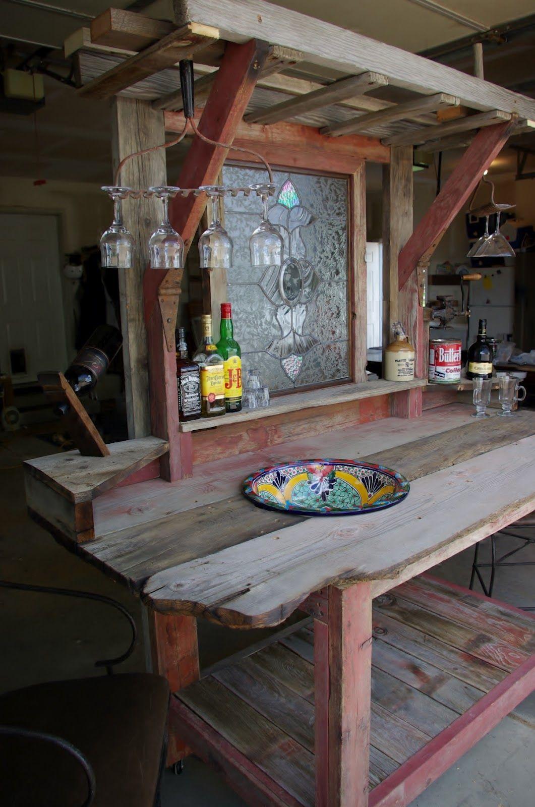 Beautiful Garten Bar Rustikal Selber Bauen Aus Holz