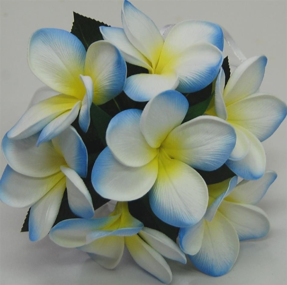 bouquet silk flowers light blue - Google Search