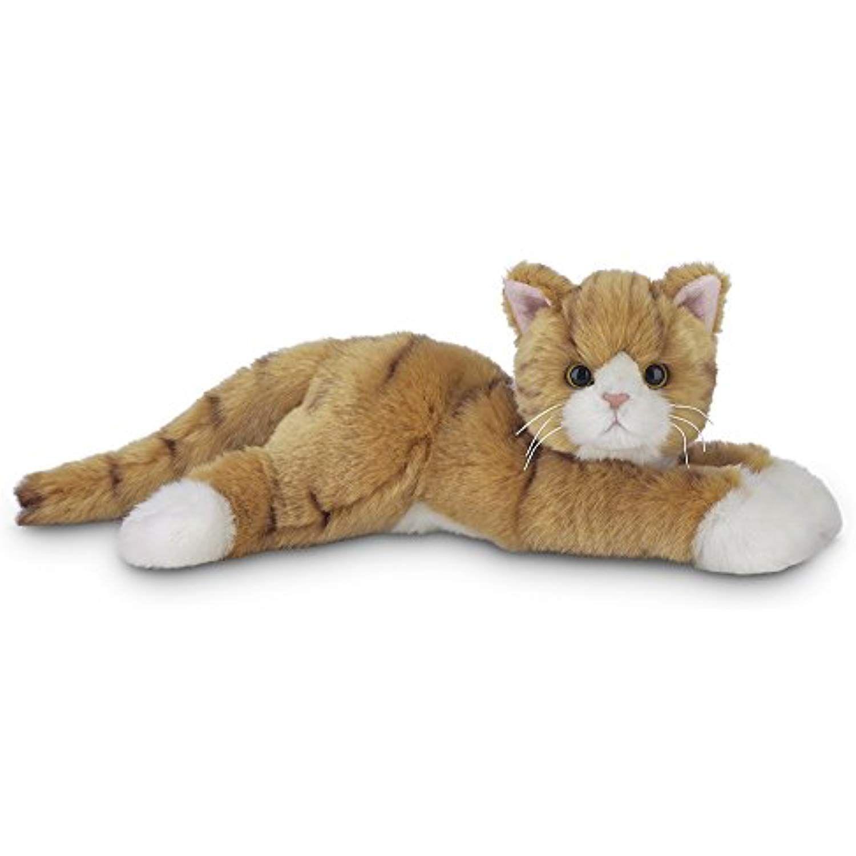 Bearington Collection Plush Stuffed Animal Orange Striped