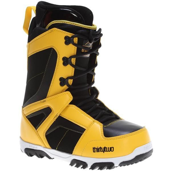 ThirtyTwo Men's Prion Snowboard Boots (2016) - Black/Yellow