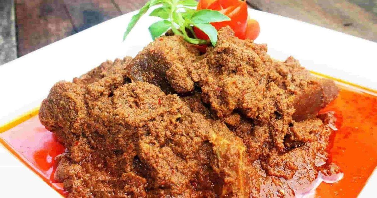 Resep Dan Cara Membuat Rendang Ayam Padang Sederhana Resep Resep Masakan Resep Masakan Indonesia