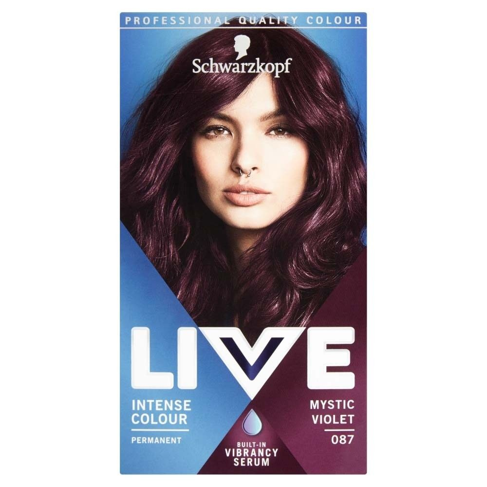 Schwarzkopf Live Intense Colour 87 Mystic Violet Hair Dye In 2020