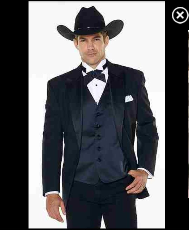 Western style | Tux | Pinterest | Westerns and Weddings