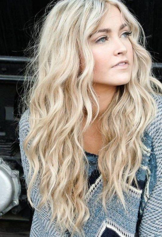 Trendige langhaarfrisuren 2016…   Hairstyles   Curly hair ...