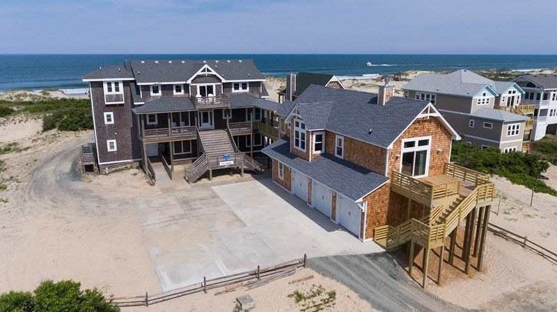 Twiddy outer banks vacation home villa valhalla 4x4 oceanfront 9 bedrooms