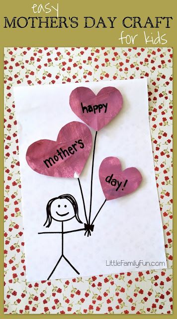 Easy Mothers Day Craft For Kids So Cute Crafty 2 The Core Diy