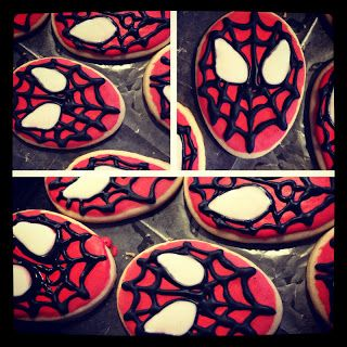 Spiderman  Party: Cookies