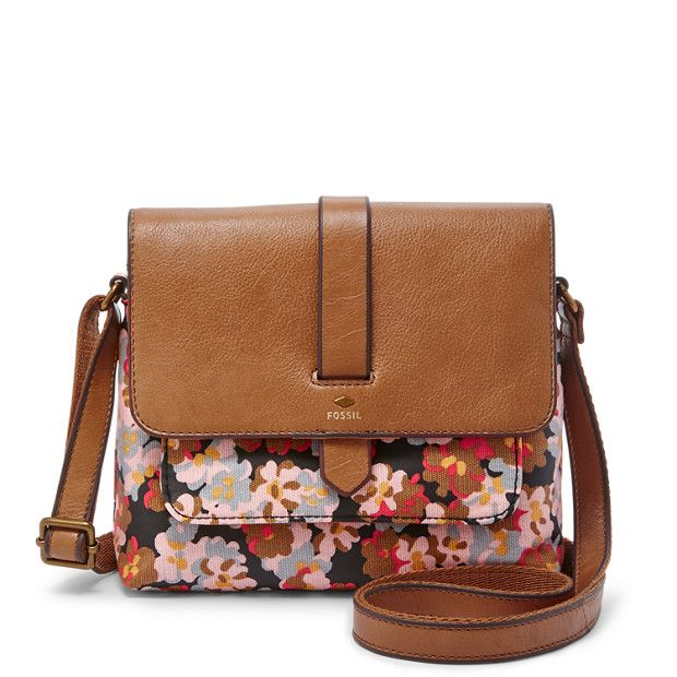 Love This Super Cute Pattern On The Kinley Crossbody Fossil Handbag