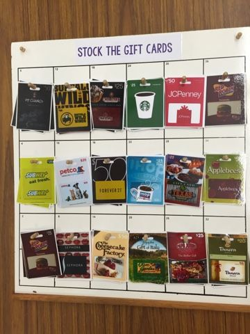 Vocational stocking task AND learning logos! Free printables!