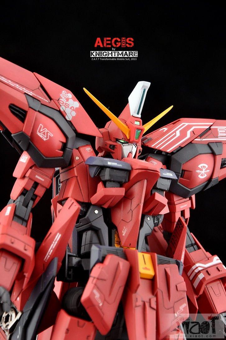 GUNDAM GUY: MG 1/100 GAT-X303 Aegis Gundam - Customized Build