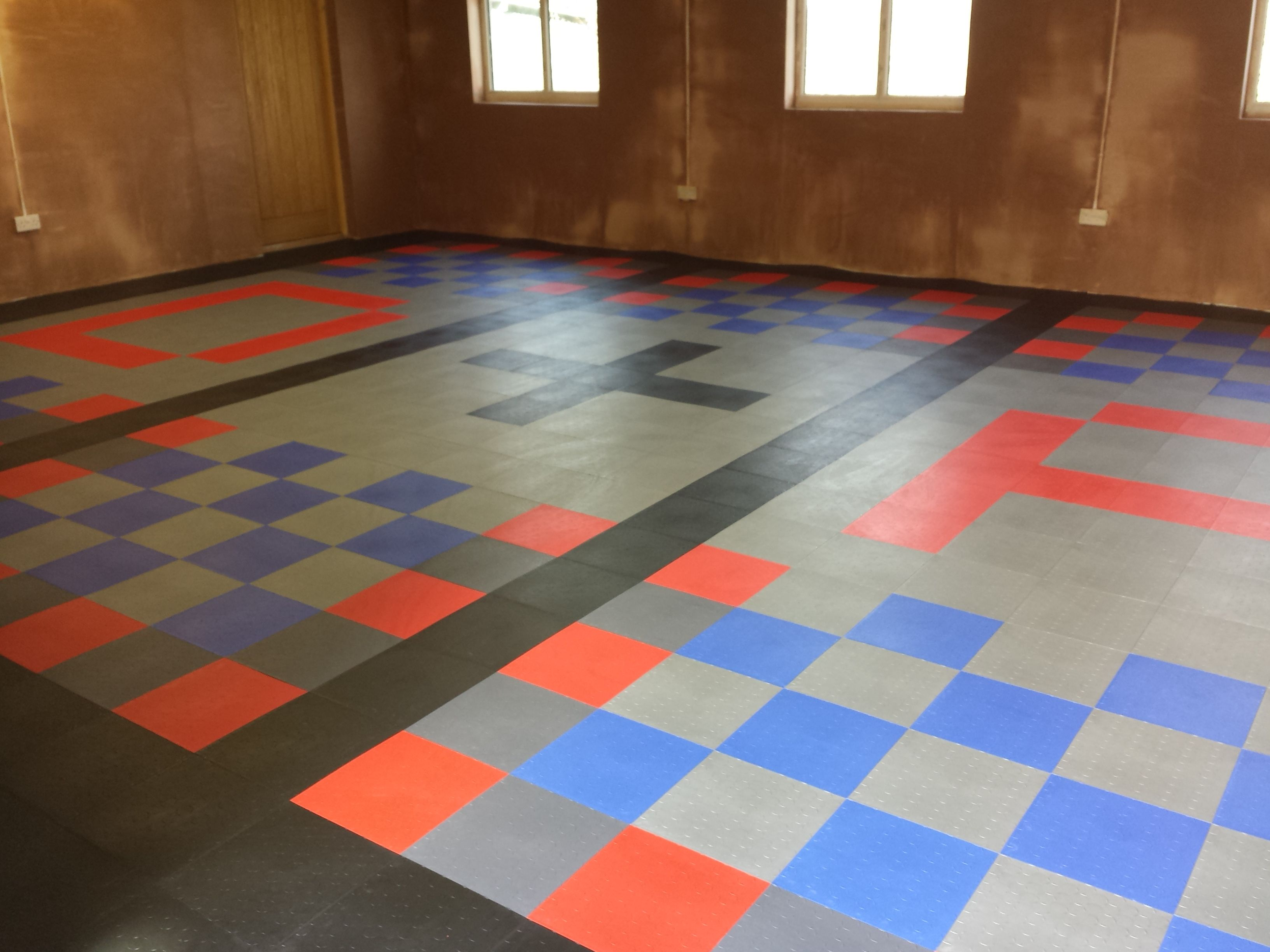 Transform Your Garage With Dynotile Garage Floor Tiles Wide Choice
